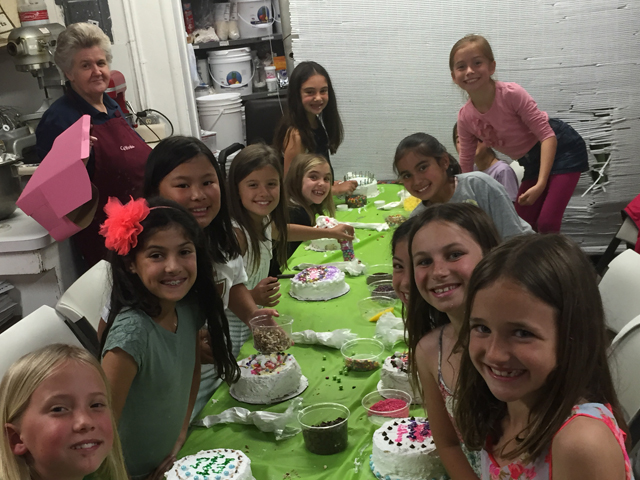 Birthday Parties At The Cake Works
